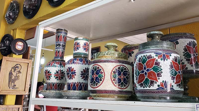 vasos pintados a mao tiradentes