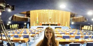 visita ao Palácio do Congresso Nacional camara senadores
