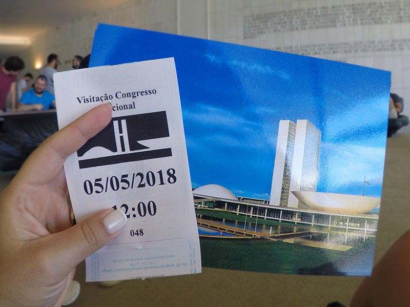 visita guiada ao palacio do congresso nacional em brasilia