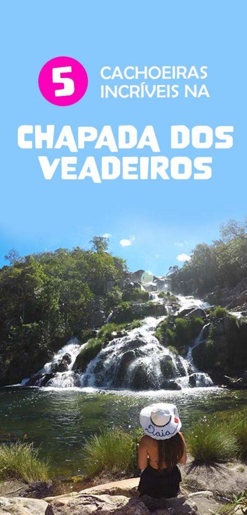 As melhores cachoeiras na Chapada dos Veadeiros, confira a lista