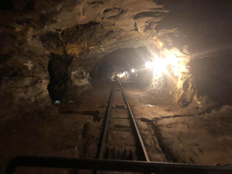 Túnel da Mina da Passagem em Mariana