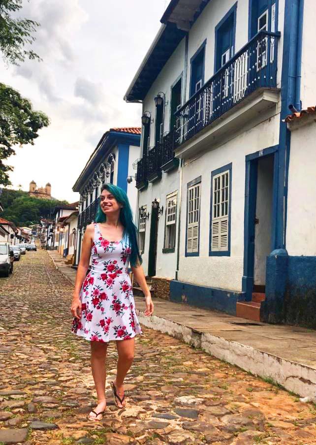 Mariana e suas ruazinhas fofas