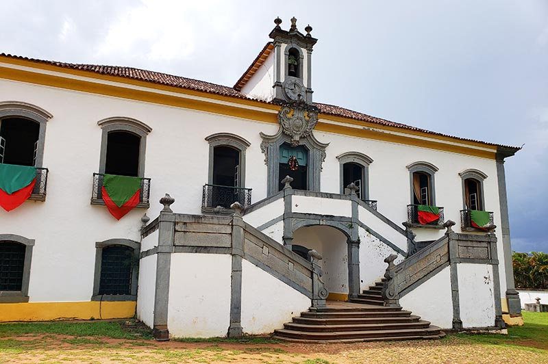 fachada Casa da Câmara e Antiga Cadeia