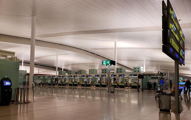 Lounge do Aeroporto El Prat T2