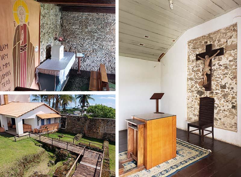 Ambientes e objetos do Santuário Nacional José de Anchieta