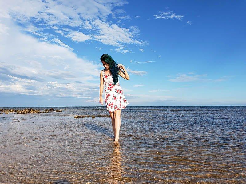 Praia de Castelhanos em Anchieta