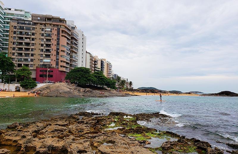 Stand up Paddle na Praia dos Namorados