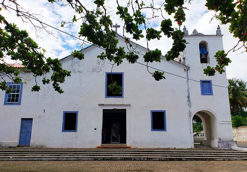 Fachada do Santuário Nacional José de Anchieta