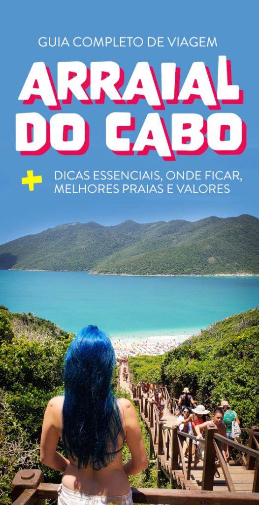 Guia completo de viagem a Arraial do Cabo dica se o que fazer
