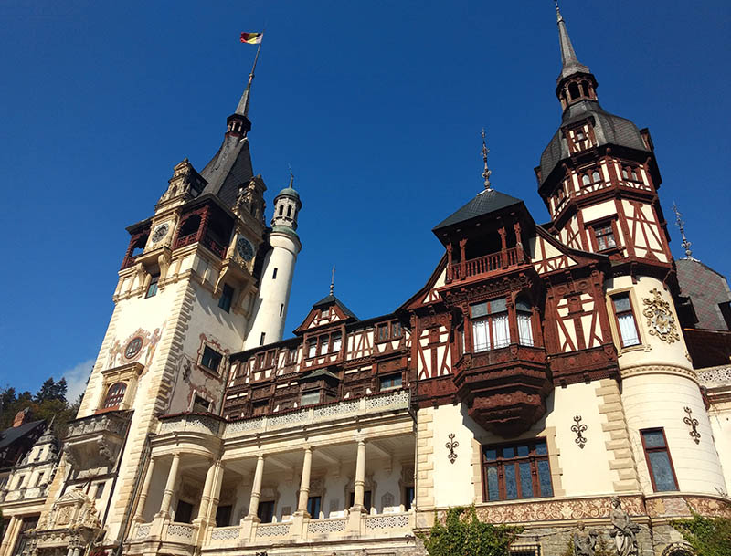Castelo Peles na Transilvânia