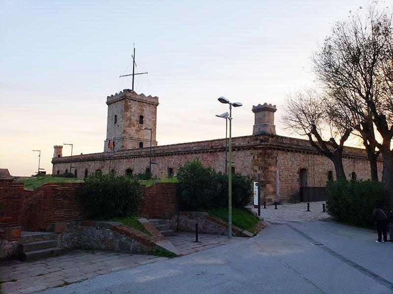 Castelo de Montjuic em Barcelona