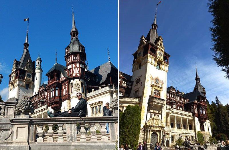 Castelo Peles, um dos mais bonitos da Transilvânia