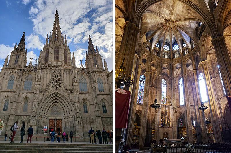 catedral de barcelona santa eulalia