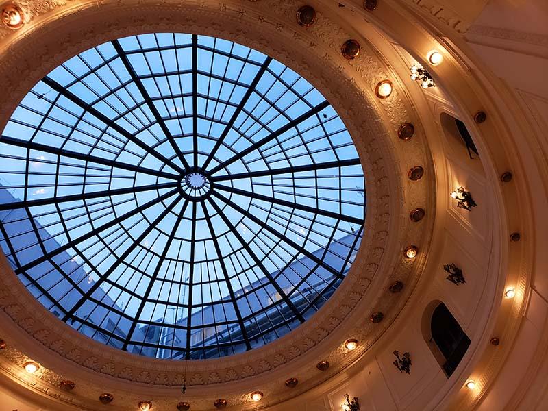 Cúpula do Centro Cultural Banco do Brasil