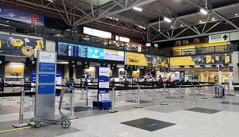 Inglês no aeroporto, avião e imigração