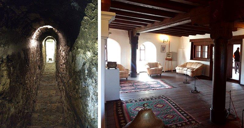 Interior do Castelo Bran