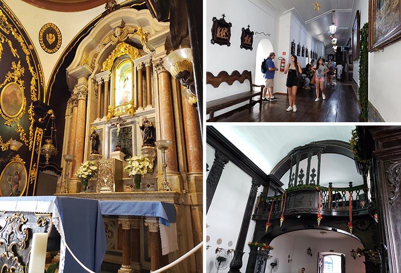 Interior do Convento da Penha em Vila Velha