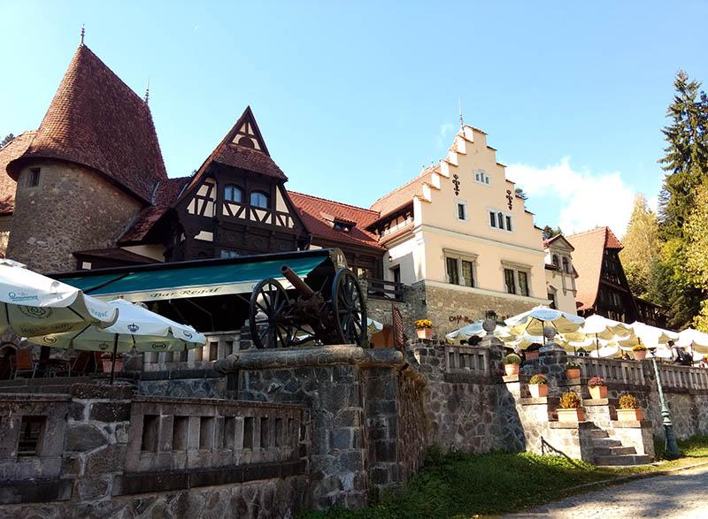 Vila na Transilvânia