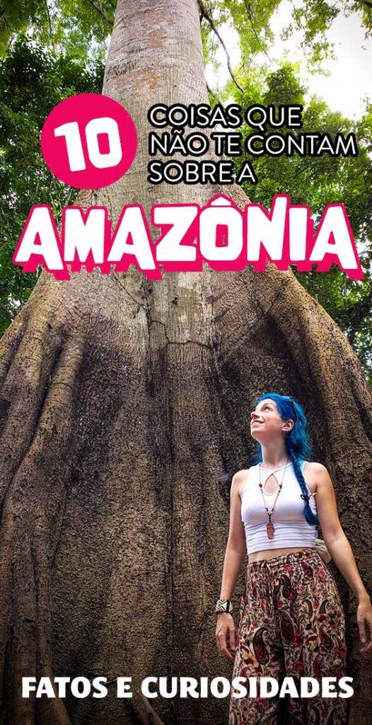 10 coisas que não te contam sobre a Amazônia