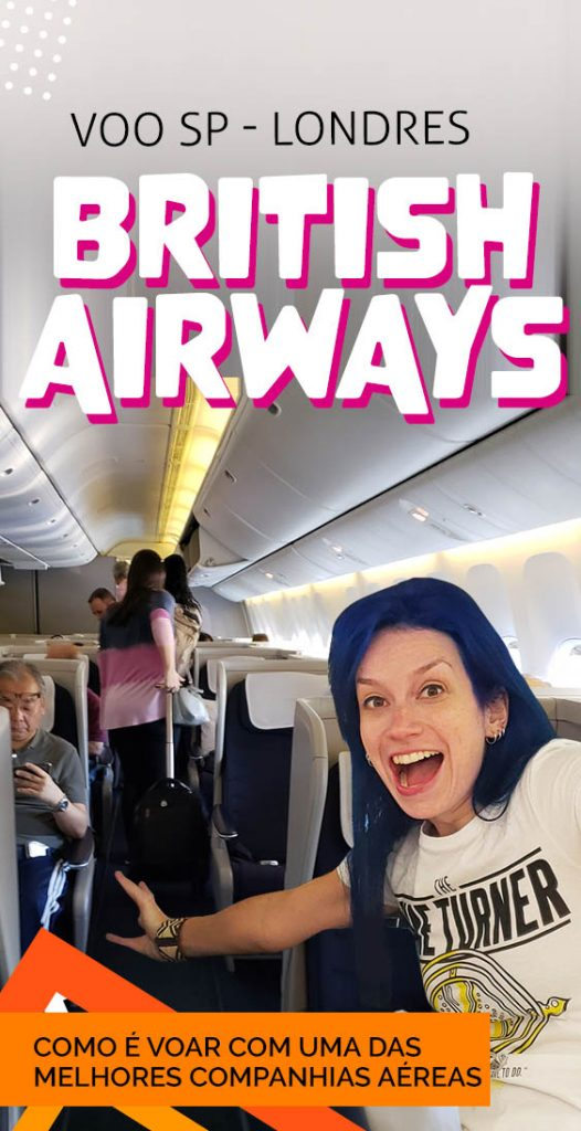 Como é voar British Airways SP londres