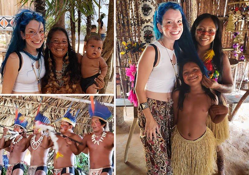 Muito amor na Aldeia Indígena Ticuna