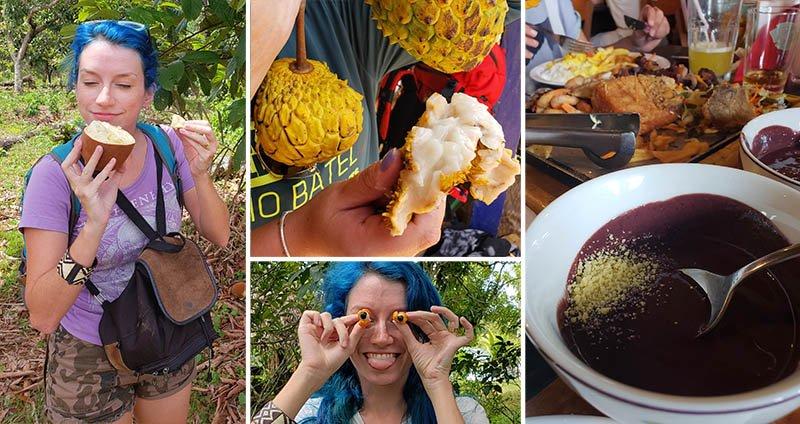 curiosidades sobre a amazonia comida