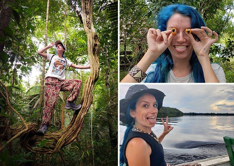 Explorando a selva amazônica!!