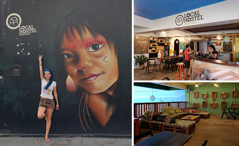 Local Hostel é uma ótima opção em Manaus!