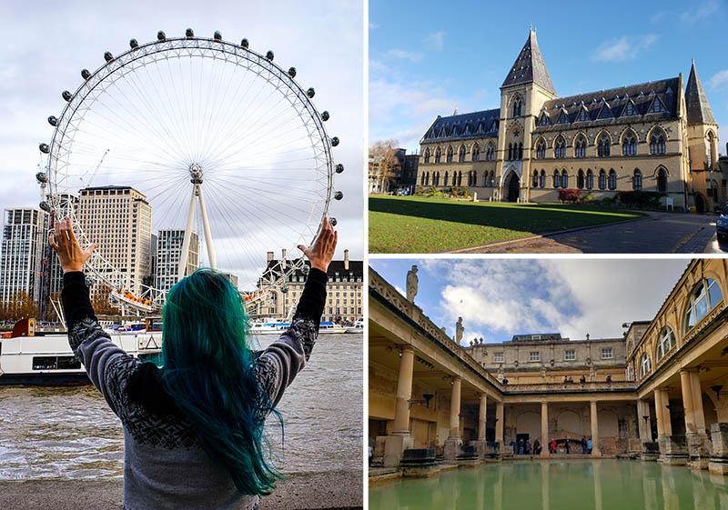 A Inglaterra tem cidades bem diferentes