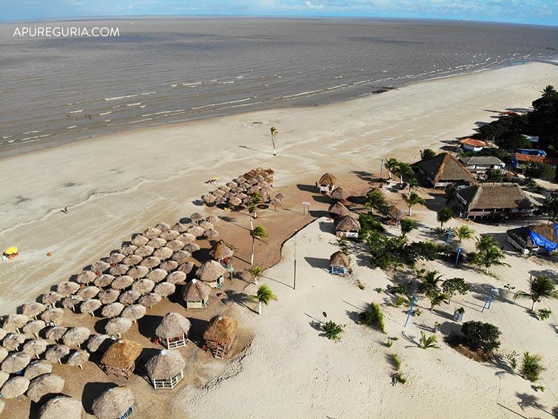 Praia de Pesqueiro na Ilha de Marajó