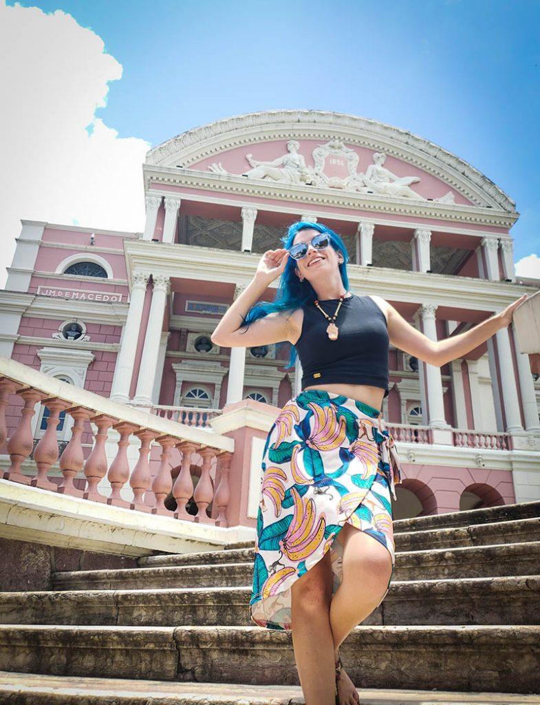 Escadaria do Teatro Amazonas