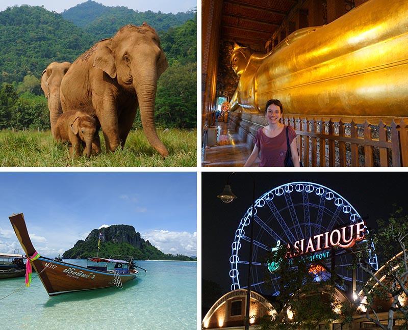 A Tailândia é muito procurada pelos mochileiros