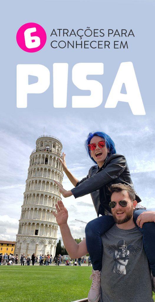O que fazer em Pisa pontos turisticos