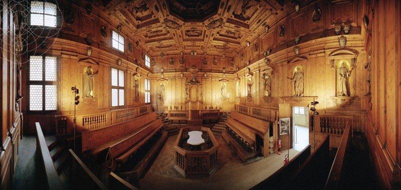 Teatro Anatômico no Palazzo Dell'Archiginnasio