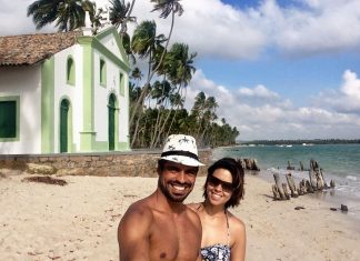 Capelinha de São Benedito na Praia de Carneiros Pernambuco