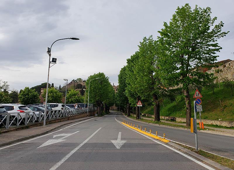 estacionamento de carro pago na italia