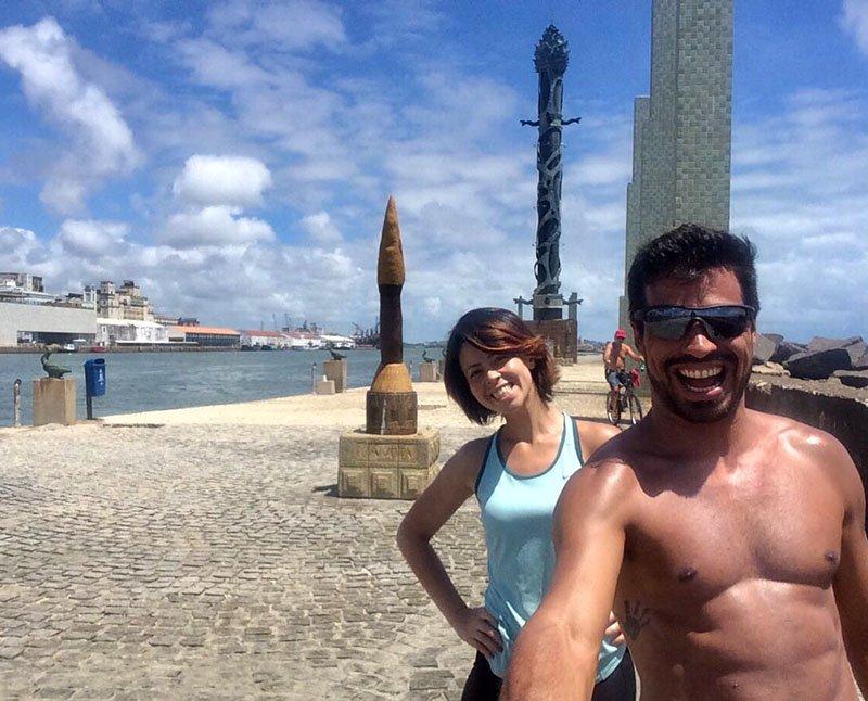 Esculturas de Brennand em Recife