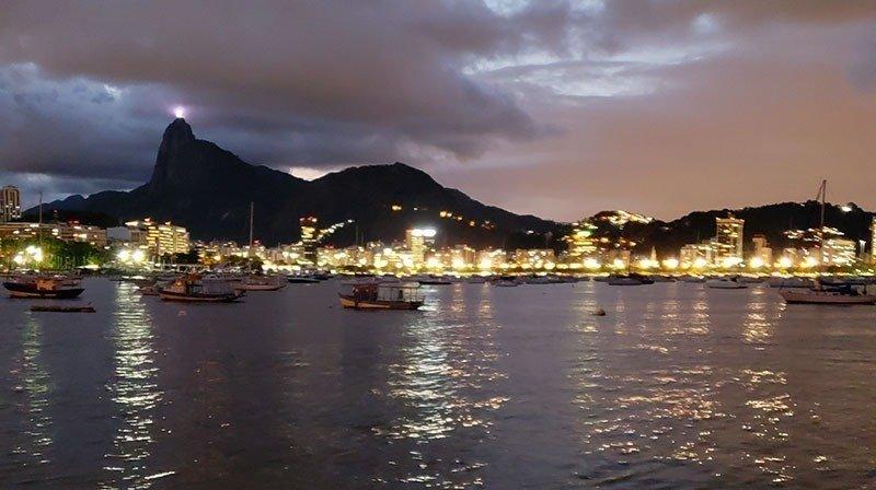 Vista da Pobreta no Rio
