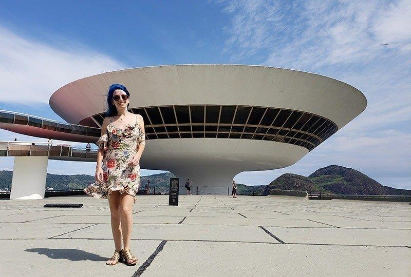 O MAC é um dos lugares mais lindos de Niterói!
