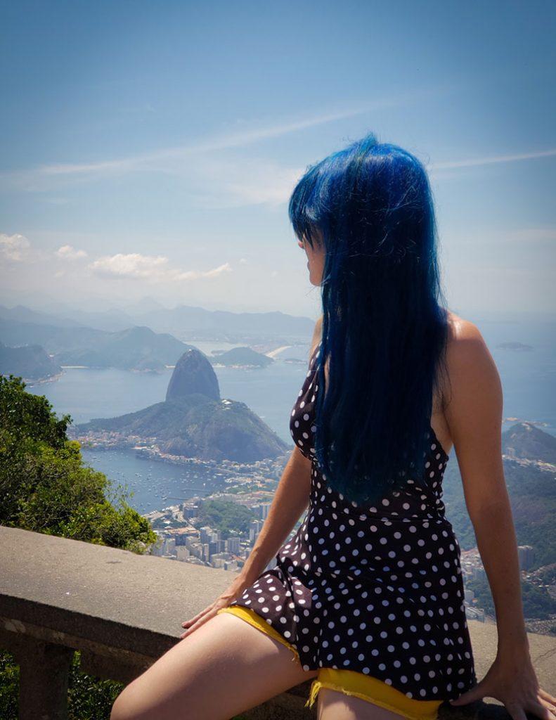 Não pode faltar o Cristo Redentor no por do sol no Rio de Janeiro