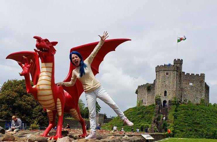 O Dragão é símbolo do País de Gales