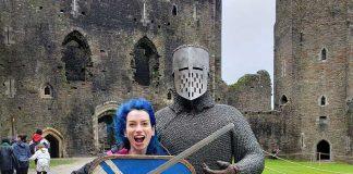 Viagem Pais de Gales Castelo Caerphilly