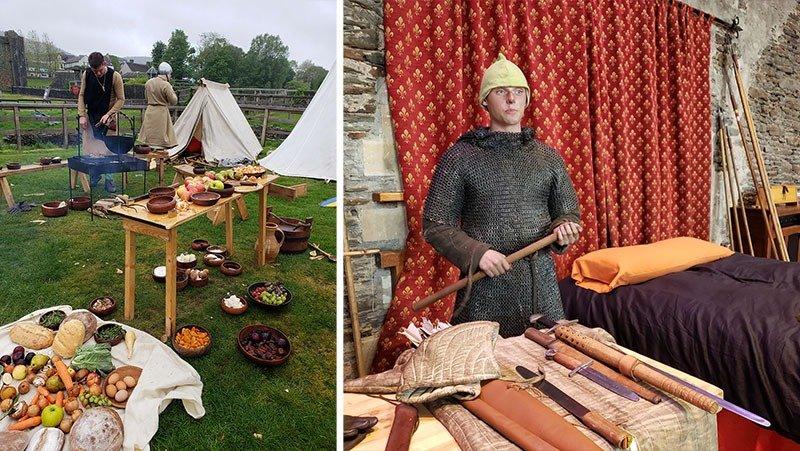 evento medieval no reino unido