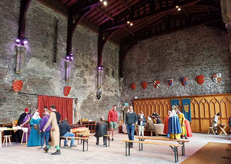 Salão Principal do Castelo