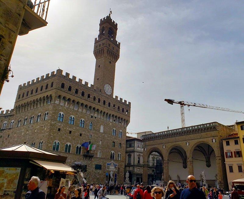 Palazzo Vecchio na Piazza della Signoria