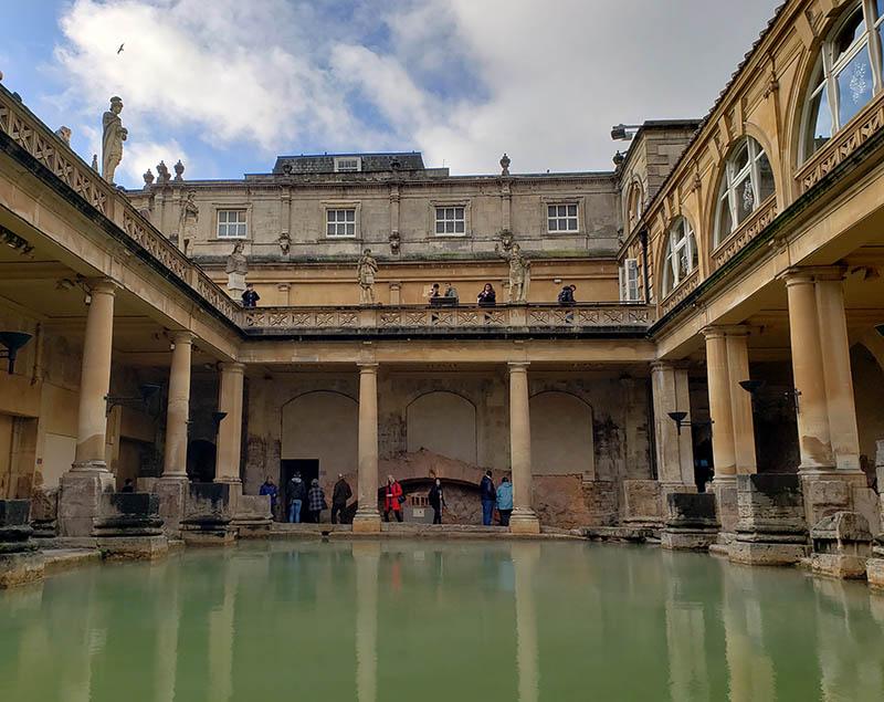 Banhos termais romano