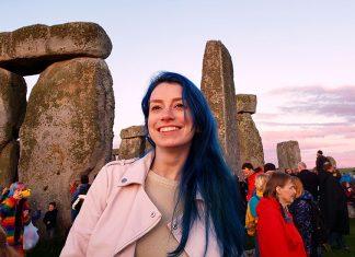 Visitar Stonehenge durante o solstício foi incrível!