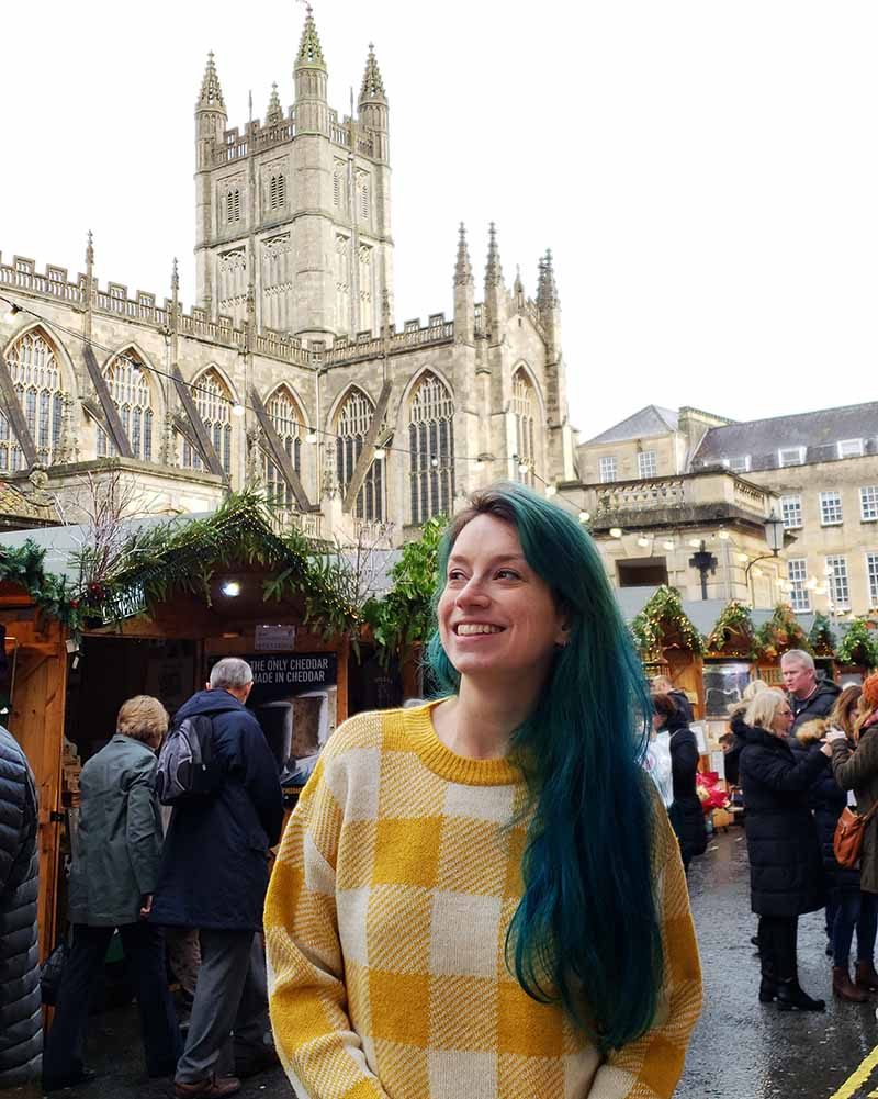Feita de Natal em Bath
