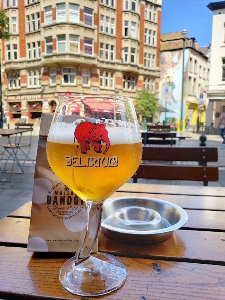 As deliciosas cervejas belgas!