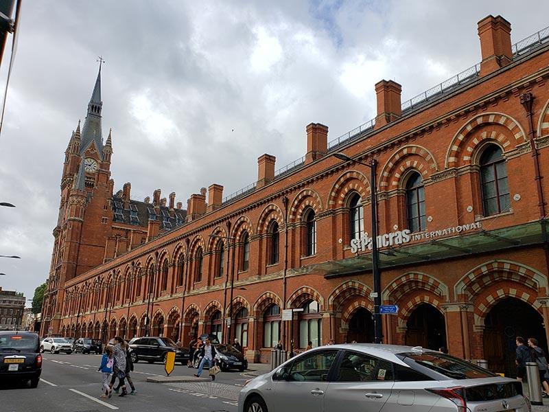 Estação St Pacras em Londres